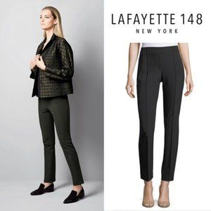 Lafayette 148 Gramercy Acclaimed Stretch Pants - 4